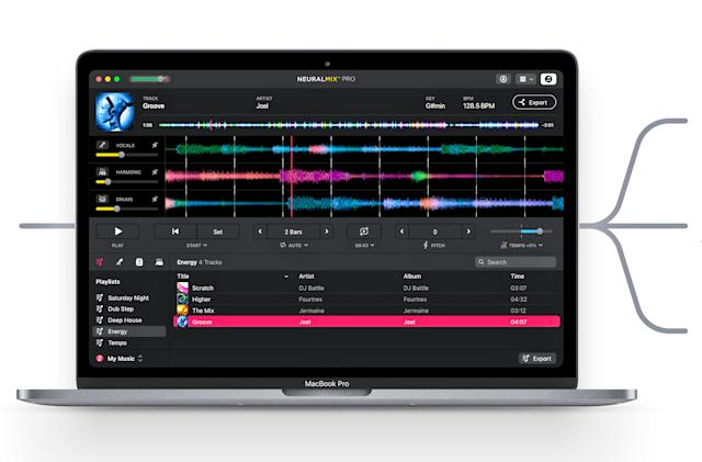 Algoriddim spins off its AI audio tools into the standalone Neural Mix Pro app