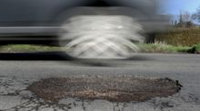 Potholes causing twice as many breakdowns as they did 12 years ago