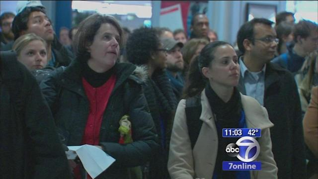 Travelers grow frustrated with trains