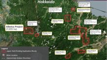 Japan Gold Announces Grant of Prospecting Rights at Historic Aibetsu Goldfield