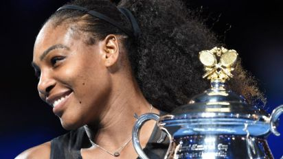 Serena Williams hit backs at John McEnroe's claims she would be ranked 700 in the world in the men's game