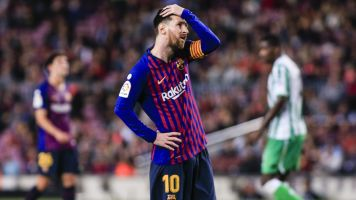 Messi's return not enough as Barcelona falls
