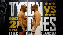 Mike Tyson-Roy Jones Jr. exhibition bout ends in a draw