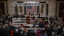 U.S. House of Representatives passes bill to avert government default