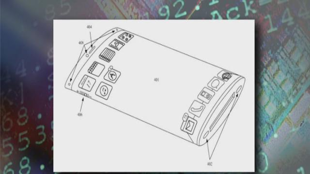 Apple files patent for wraparound display