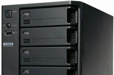 I-O Data offers up 1TB and 2TB LANDISK Tera NAS drives