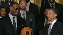 Barack Obama praises LeBron James, NBA players for carrying on Jackie Robinson, Muhammad Ali's legacy