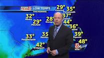 Harvey's Wednesday Boston area weather forecast