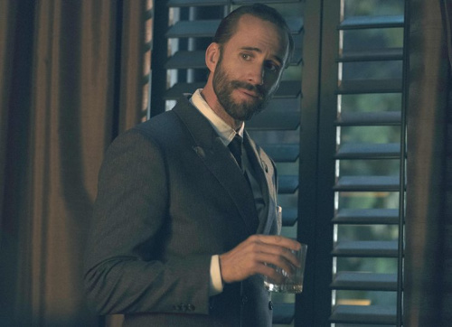 Joseph Fiennes as Commander Waterford in Hulu's The Handmaid's Tale.