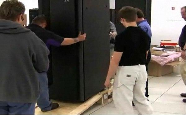 NCSA prepares for Blue Waters petascale supercomputer, and we've got the video to prove it