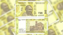 RBI To Issue New 'Greenish Yellow' Rs 20 Note Soon