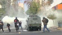 Chile: Studentenproteste enden in Straßenschlachten