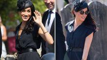 Meghan makes dress mishap looks like a fashion statement