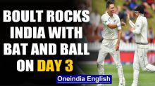 India vs New Zealand, 1st Test: Trent Boult rocks India's batting on Day 3
