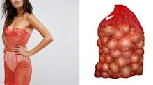 Twitter users say this $442 dress looks like a bag of onions