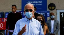 Biden nears finish line with lead in polls, but Trump still close in swing states: Reuters/Ipsos poll