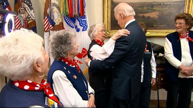 Obama, Biden Honor WW II Working Women