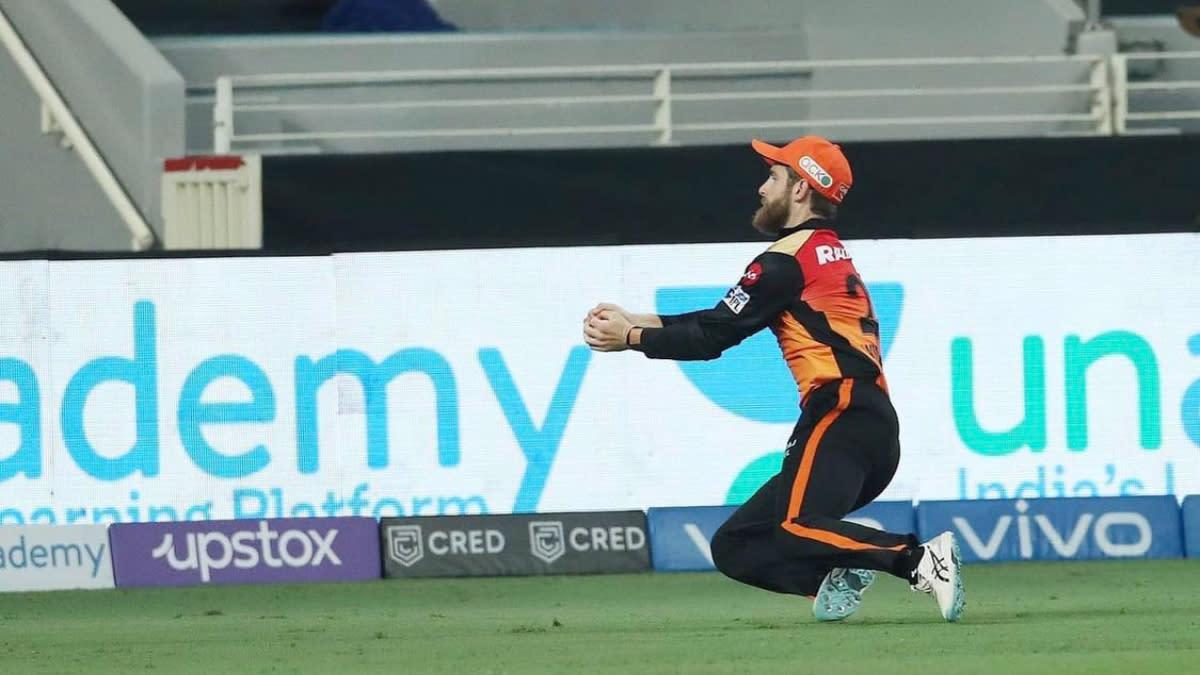 Kane Williamson Takes Brilliant Running Catch To Dismiss Prithvi Shaw  During DC vs SRH IPL 2021 Clash (Watch Video)