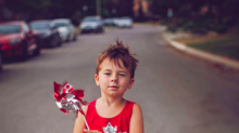 Mom Shares Photos of Son in Dresses to Fight Gender Stereotypes