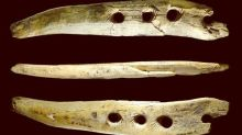 Take a tusk, drill  holes, weave a rope – and change the course of history