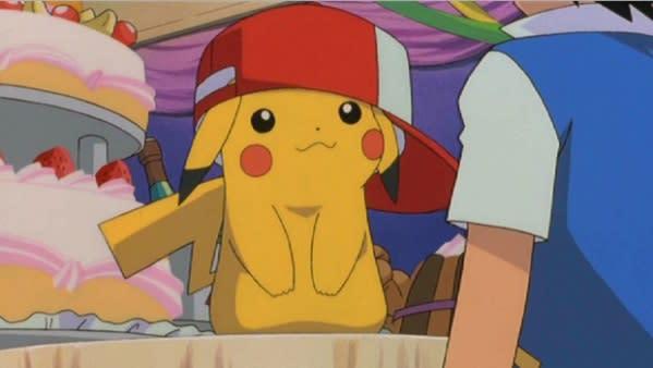 Pikachu dresses fancy for Omega Ruby, Alpha Sapphire