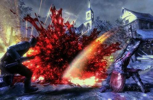 New Castlevania: Lords of Shadow screens are bloody, awesome