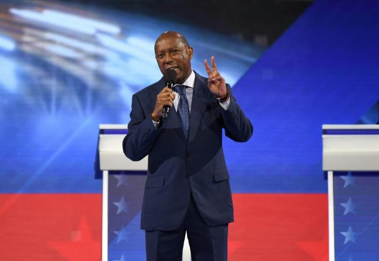 """Houston Mayor Sylvester Turner (pictured September 2019), wrote to the RPT urging it to transition to an online convention to """"protect the health and perhaps the very lives"""" of those intending to attend and those working the event"""