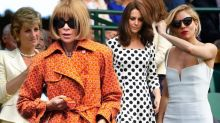 The best dressed celebrities at Wimbledon over the years