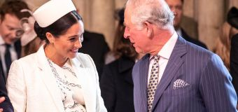 Prince Charles' touching tribute to Meghan revealed