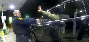 Video: Uniformed soldier pulled over by Va. police