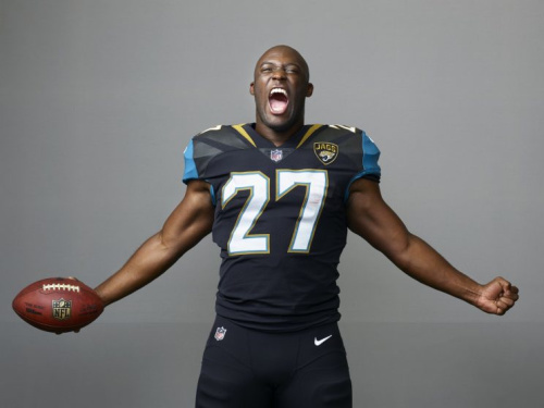 Leonard Fournette is the new focal point of the Jaguars' offense. (AP)