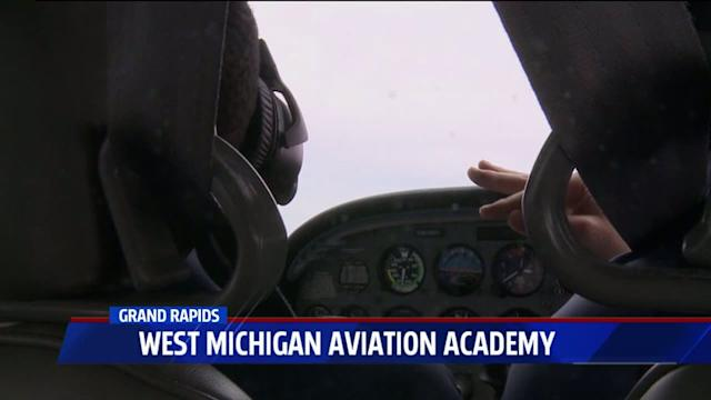 Teens Get to Fly Planes