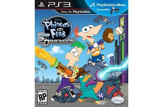 Phineas and Ferb to visit the 2nd Dimension on Wii, PS3, DS