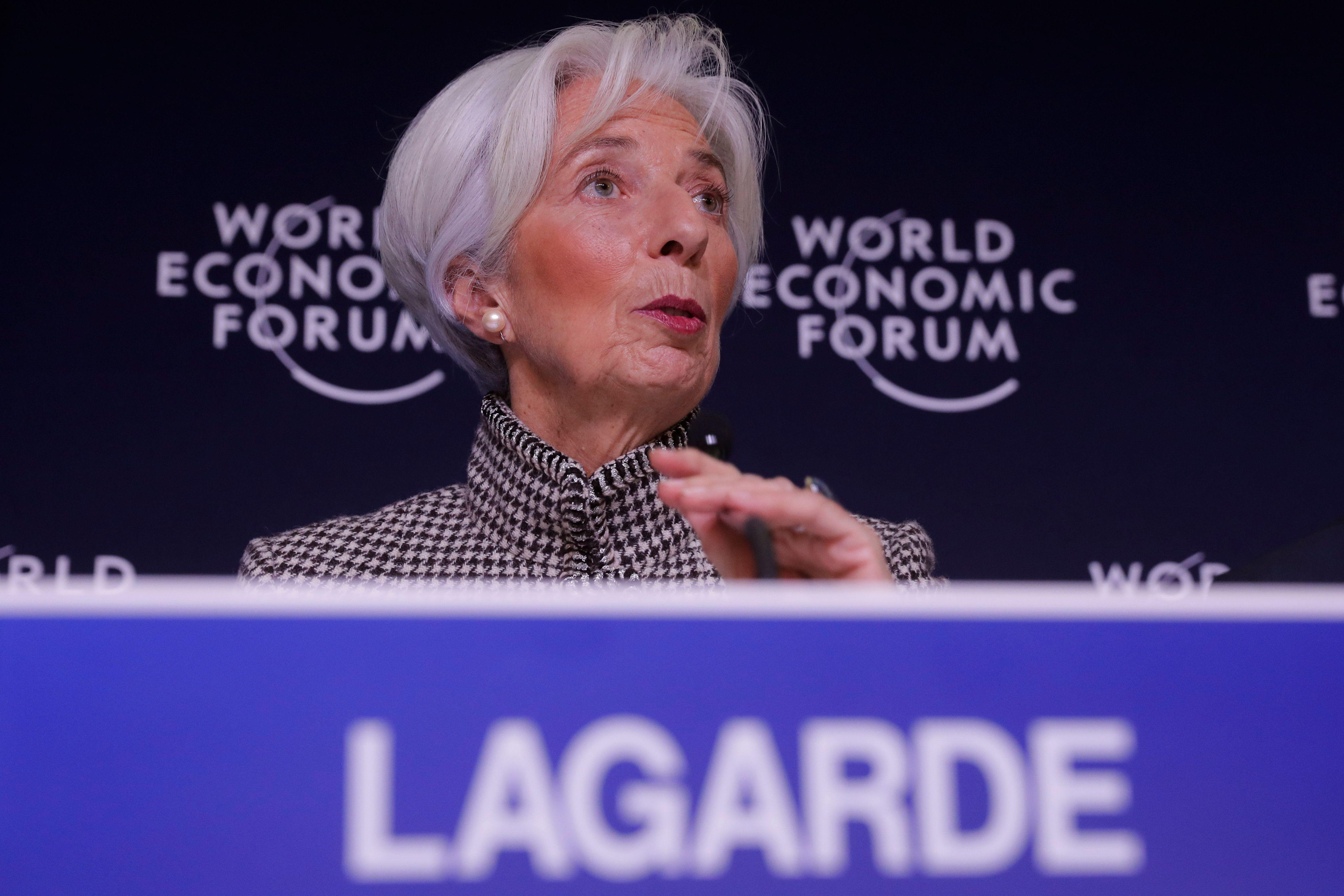 Lagarde: We see risk on the horizon, and the horizon is getting closer to us
