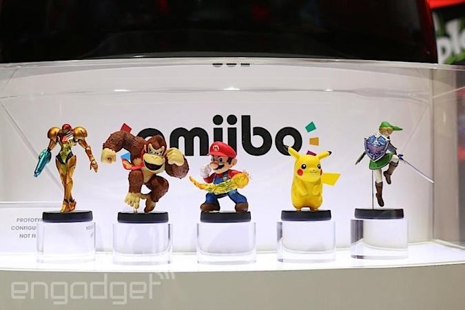 Here are Nintendo's new 'Super Smash Bros.' Amiibo toys for Wii U