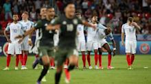 England U21 2 Germany U21 2 (Germany win 4-3 on pens): Familiar heartbreak for Three Lions as they lose semi-final shootout to old enemy