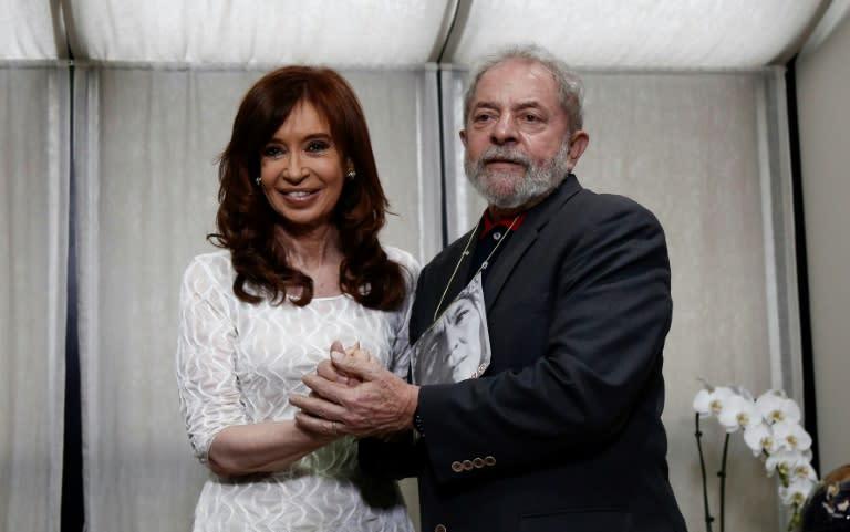 Kirchner e Lula defendem renovação da política e reconstrução da unidade latino-americana