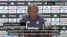 """Betis - À peine arrivé, Pellegrini observe déjà """"des progrès"""""""
