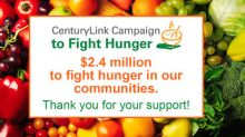 CenturyLink Campaign to Fight Hunger raises over $2.4 million for U.S. and international food banks