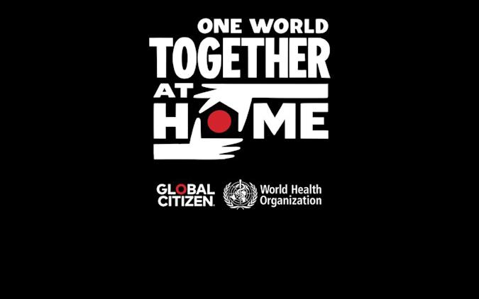 The WHO and Global Citizen will host a virtual benefit concert on April 18th.