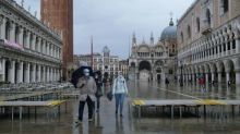 Venice is dry, and Italians are feeling something unfamiliar: hope