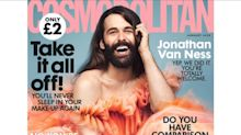 'Queer Eye' star Jonathan Van Ness is the first solo, non-female cover star on 'Cosmo UK' in 35 years