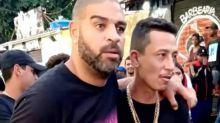 Adriano Imperador sai amparado de baile funk durante a quarentena e divide opiniões na web