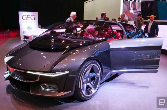 Giugiaro's supercar concept EV gives back to the power grid