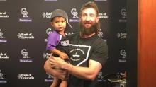 Charlie Blackmon met his two-year-old superfan and it was adorable