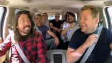 The Foo Fighters come 'full circle' on 'Carpool Karaoke'