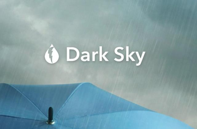 Apple buys Dark Sky weather app