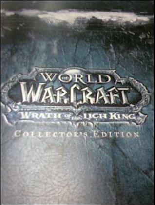 Rumor: Wrath of the Lich King Collector's Edition box