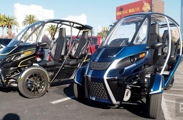 Taking Arcimoto's three-wheeled EV for a spin