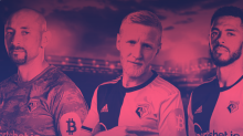 Watford FC has branded the Bitcoin logo on its players' kits. Do Watford fans care?